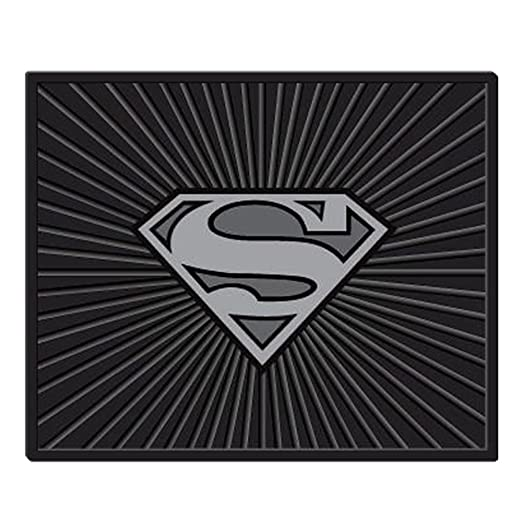 New DC Comics Superman Classic Shield Car Truck Front Back Carpet Floor Mats