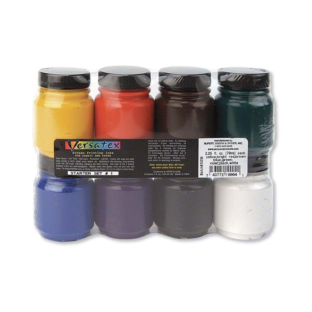Jacquard Versatex Printing Ink Set #1 by Jacquard