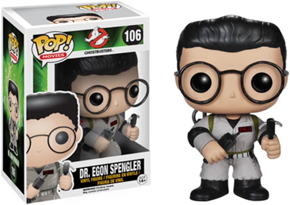 FUNKO Pop! Movies: Ghostbusters - Dr. Egon Spengler Collectible ...
