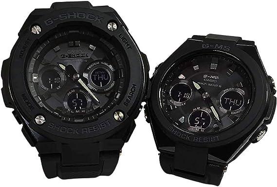 カシオCASIO 腕時計 G-SHOCK&BABY-G ペアウォッチ 純正ペアケース入り ジーショック&ベビージー 2本セット アナデジ GST-W300G-1A1JF MSG-W100G-1AJF