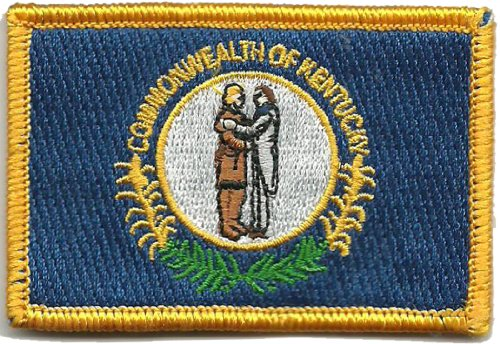 Tactical State Patch - Kentucky - Full Color