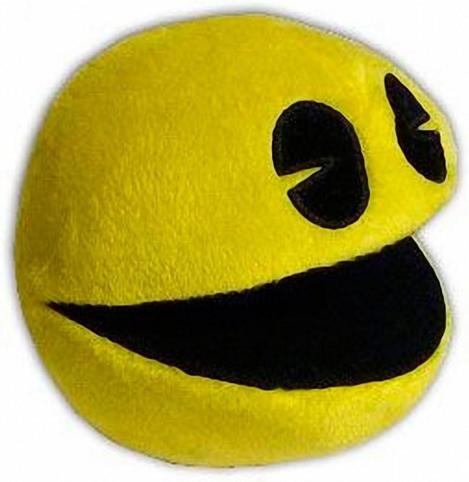 Peluche Pac-Man Muñeco Videojuego Comecocos 11cm Pacman Juego ...
