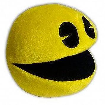 Peluche Pac-Man Muñeco Videojuego Comecocos 11cm Pacman Juego Arcade retro
