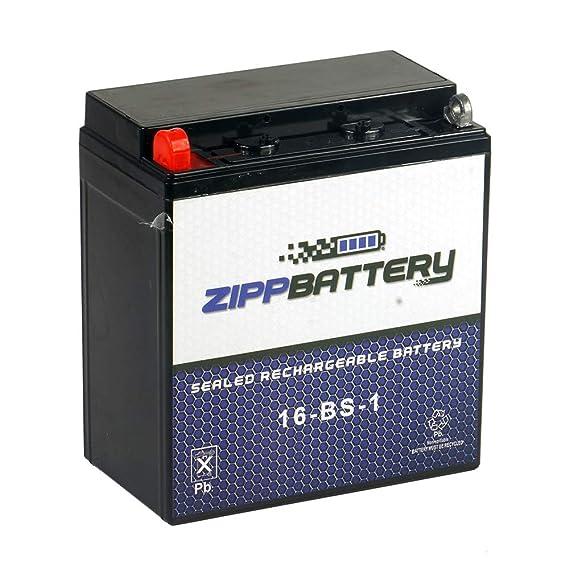 Amazon.com: YTX16-BS-1 Batería de Motocicleta para Suzuki ...