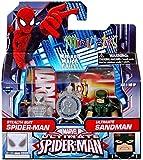 Minimates- Ultimate Spider-Man: Stealth Suit Spider-Man & Ultimate Sandman