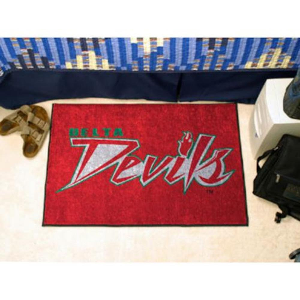 """Fanmats Mississippi Valley State Starter Rug 19""""x30"""""""