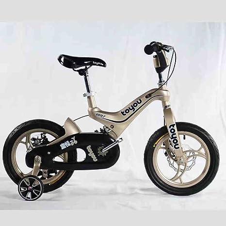 Bicicleta de los niños, aleación del magnesio 14 pulgadas muchacha ...