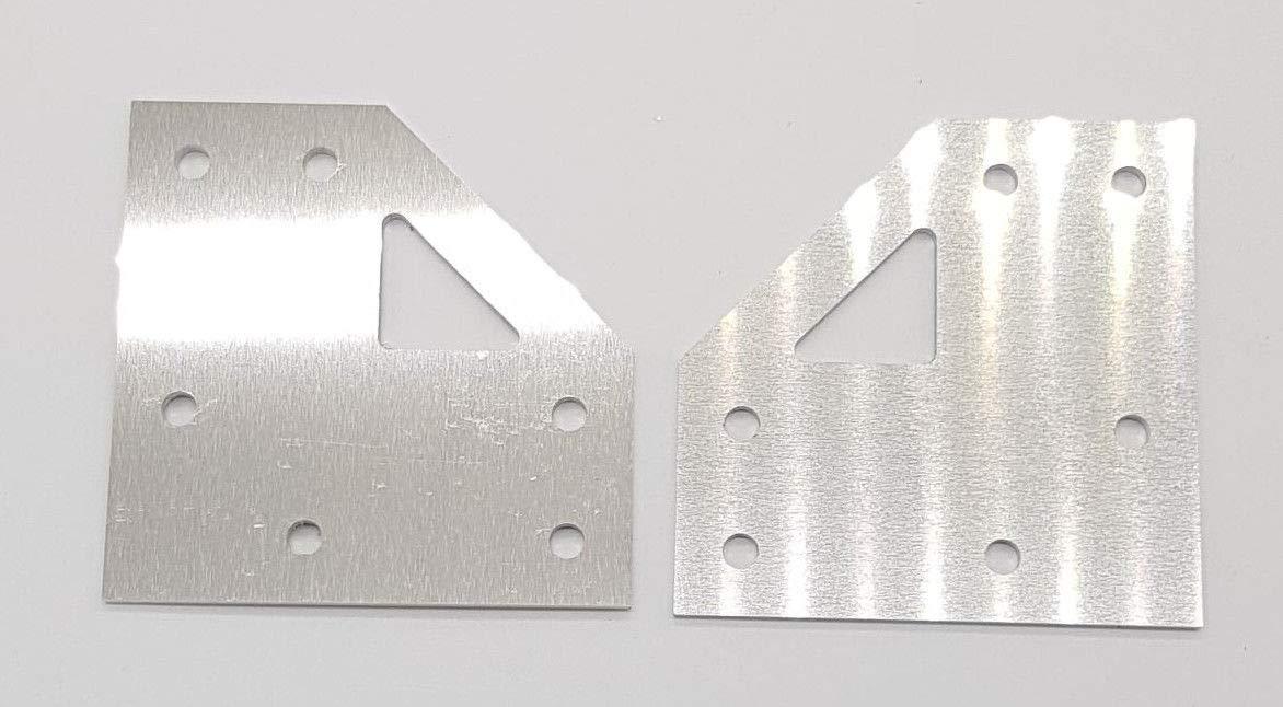 anet A8 Upgrade partes de Aluminio para AM8 conversión 3d ...