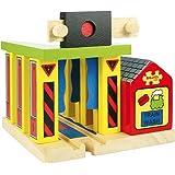 Bigjigs Rail Wooden Train Washer for Train Set