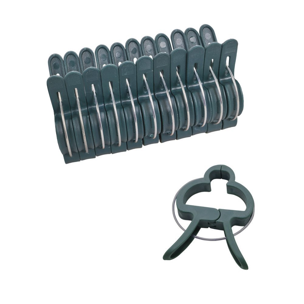 Hongville 20PCS Spring Loaded Garden Plant and Flower Large Plant Clips