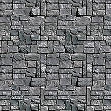 Beistle Stone Wall Backdrop, 4-Feet by 30-Feet