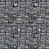 Beistle Stone Wall Backdrop, 4-Feet by 30-Feet