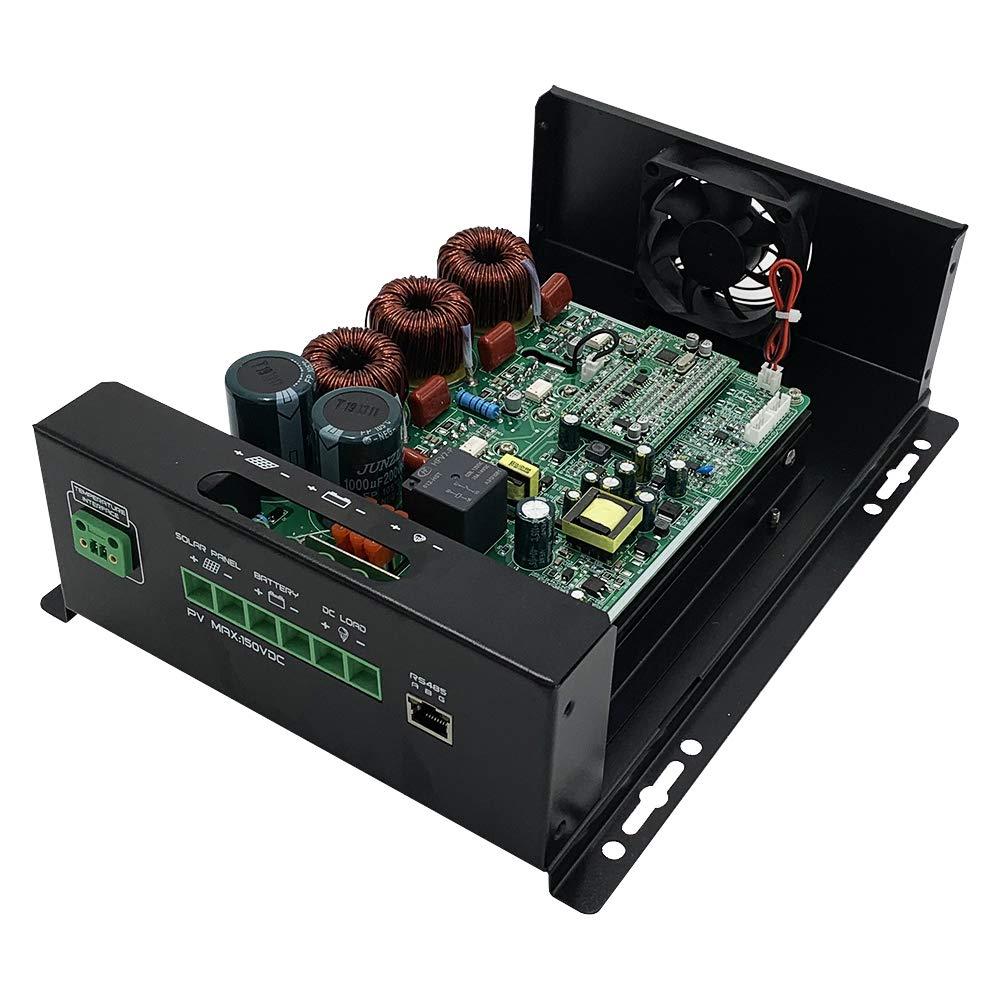 Amazon.com: Controlador de carga solar 60A MPPT 60A Panel ...