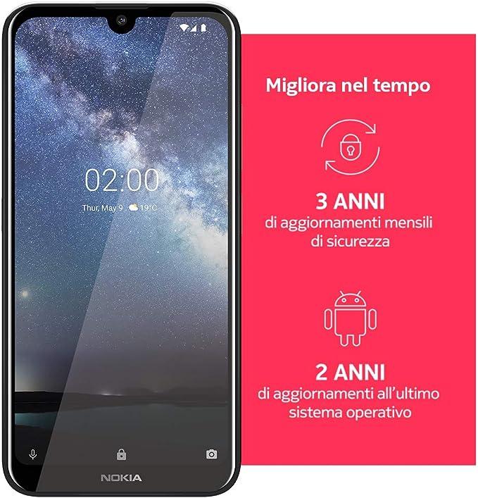 Nokia 2.2 Steel DS 3/32 GB: Amazon.es: Electrónica
