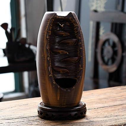 Amazon com: ZZSIccc Backflow Incense Burner Dehua Ceramics Agarwood