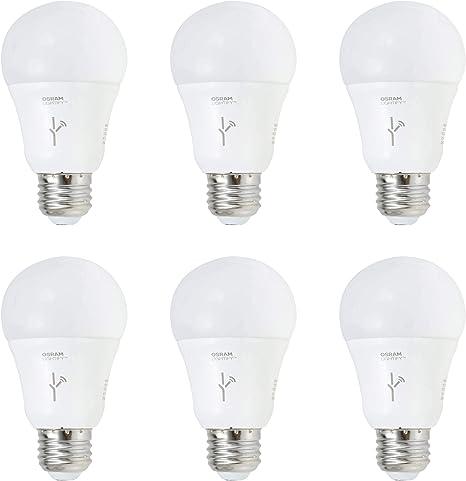 Sylvania Lightify 60-Watt A19 Tunable White Smart LED Light Bulb 3 Pack