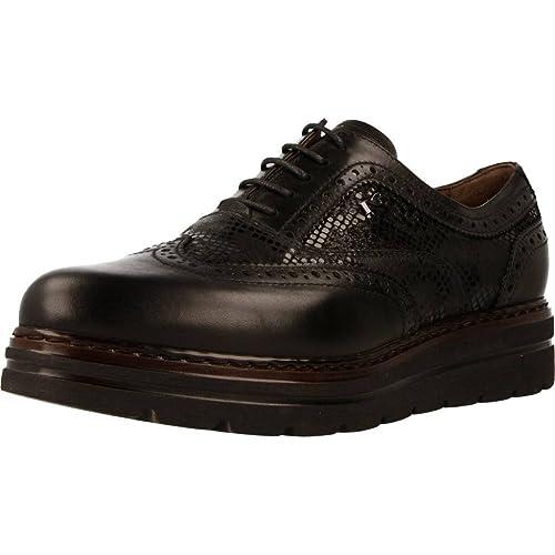 Nero Giardini donna inglesine nere A719397D scarpe in pelle inverno 2018 58c28421000