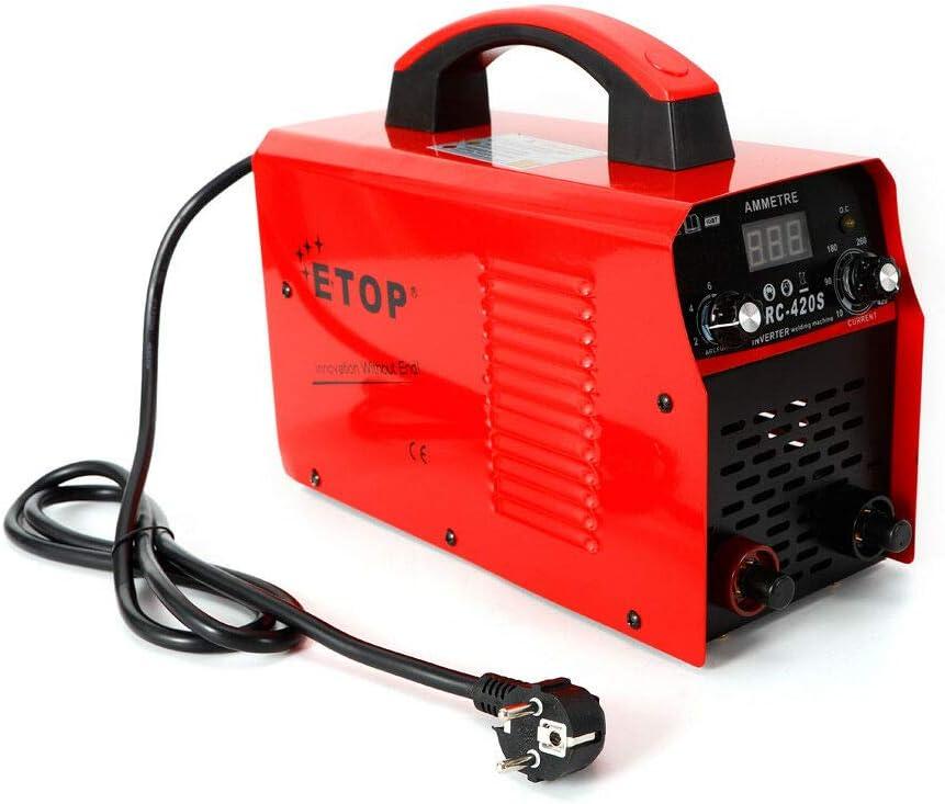 Máquina de soldadura Oukaning 420 A MMA ARC soldadora IGBT Inverter soldar electrodo 220 V