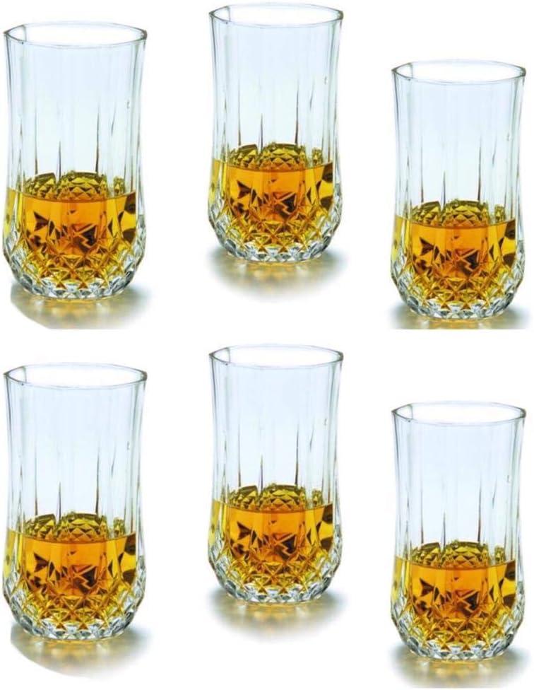 High Quality Classic Crystal Diamond Glassware Glass Gift Set 350 ml Set of 12