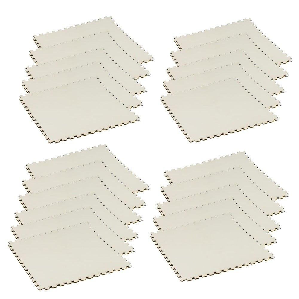 ボディメーカー(BODYMAKER) リバーシブルジョイントマット2.0 100×100×2cm ホワイト×ブラック 21枚 B01DLNY224