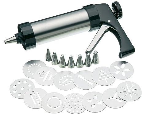Amazon.com: HuiJia Set de pistola para galletas y prensa ...