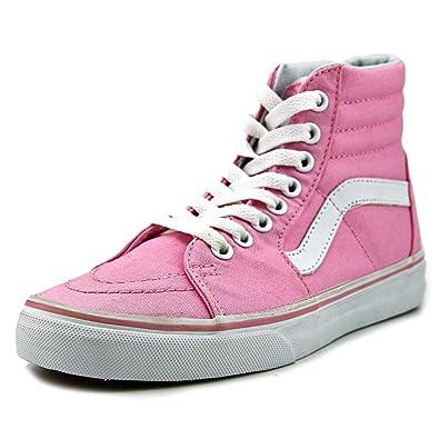 sk8 hi vans pink