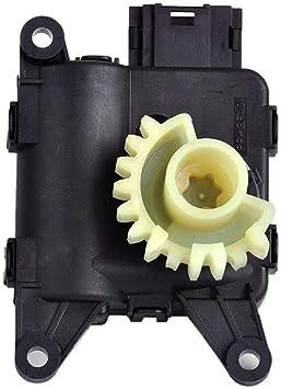 V/álvula de temperatura de recirculaci/ón Calentador Solapa Motor para Audi Volkswagen partes de bajo ruido Motor Accesorios de Coche negro