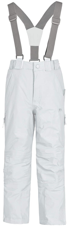 Trespass, Pantaloni da sci Bambini Nando, Bianco (blanc), 2-3 anni UCBTSKE20001_WHT2/3