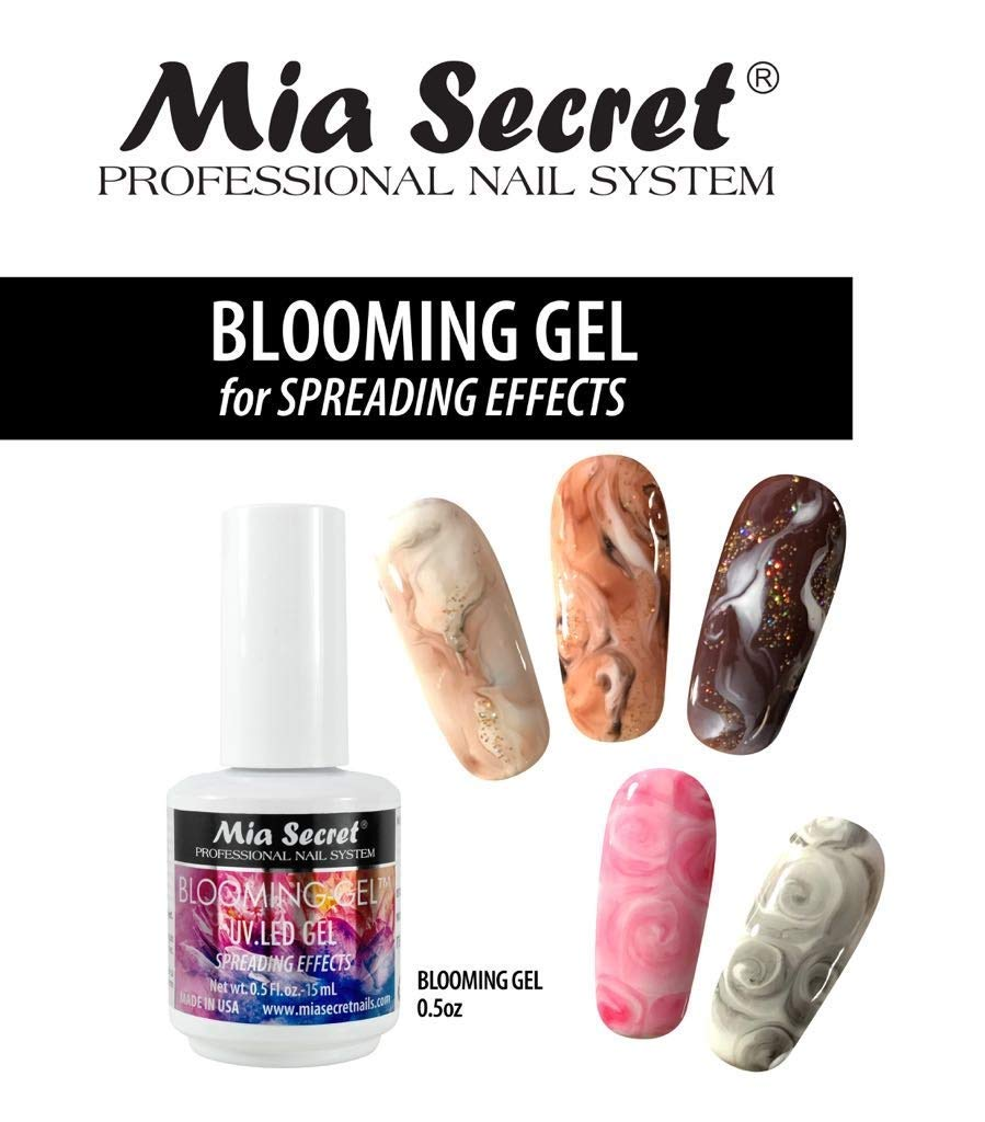 Amazon Com Mia Secret 0 5 Floz Uv Led Blooming Gel For Spreading Effects Beauty