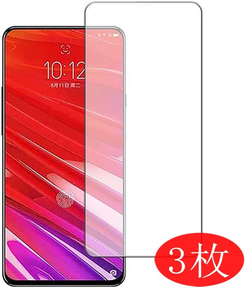【3 Pack】 Synvy Screen Protector for Lenovo Z5 Pro GT TPU Flexible HD Clear Case-Friendly Film Protective Protectors [Not Tempered Glass]