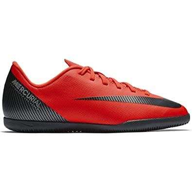 709b326898dc Amazon.com   Nike CR7 Jr. VaporX 12 Club (IC) Grade-School Kids ...