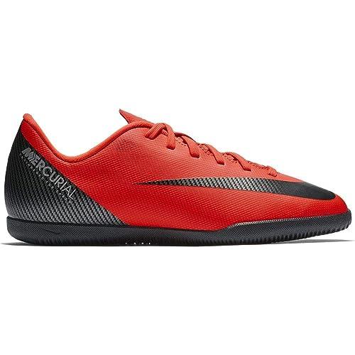 precio razonable Mitad de precio suave y ligero Nike Jr Vapor 12 Club GS Cr7 IC, Botas de fútbol Unisex Niños