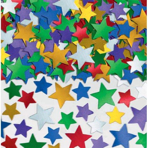 (Multicolor Star Confetti   5 oz.   Party Decor)