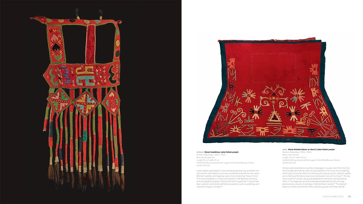 Textiles of the Middle East and Central Asia: The Fabric of Life by THAMES HUDSON (Image #9)