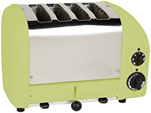 Dualit 4 Slice Classic Toaster, Lime Green