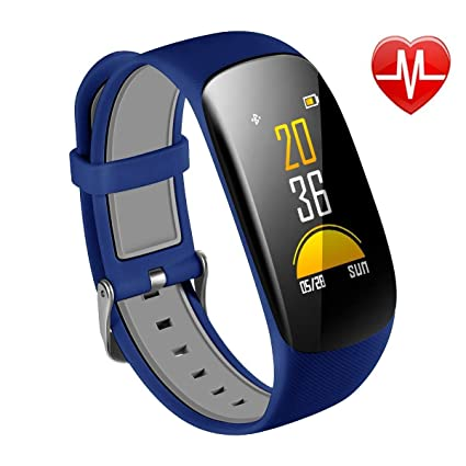 Amazon.com: YWYU Fitness Tracker H2 Plus Waterproof Smart ...