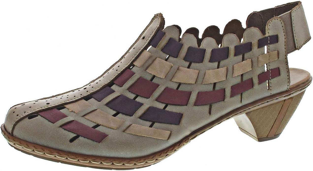 Rieker Damen Sina Pumps, beige: : Schuhe & Handtaschen zgwnb