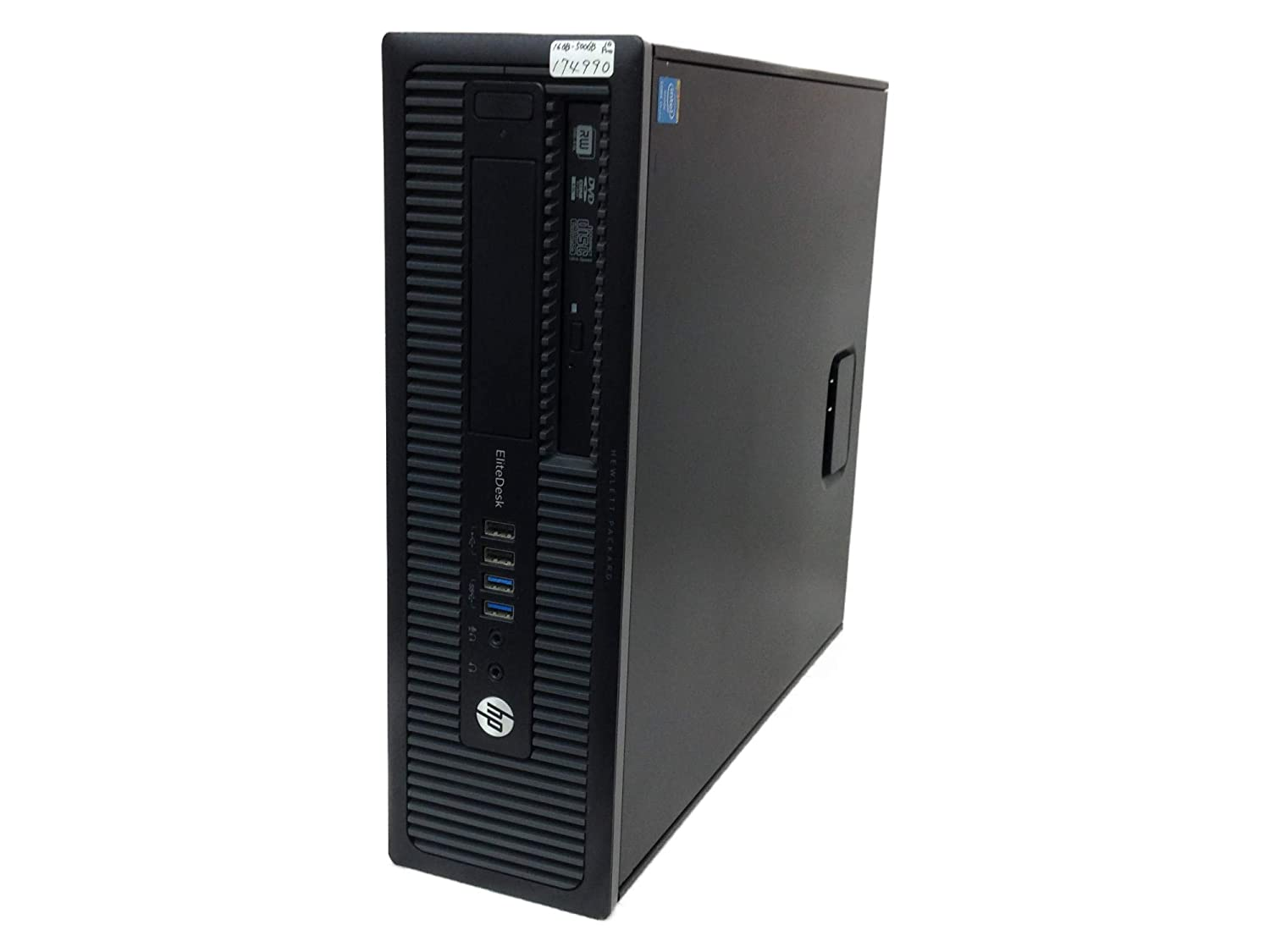 輝い 【中古 4590】 800 ヒューレットパッカード HP EliteDesk 800 Windows10 G1 SFF デスクトップパソコン Core i5 4590 3.3GHz メモリ16GB HDD500GB DVDスーパーマルチ Windows10 Professional 64bit C8N26AV B07MX2RGS6, bookfan 2号店:b858549e --- arbimovel.dominiotemporario.com