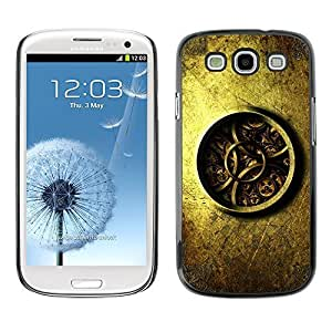 GagaDesign Phone Accessories: Hard Case Cover for Samsung Galaxy S4 - Detailed Watch Clock Mechanics