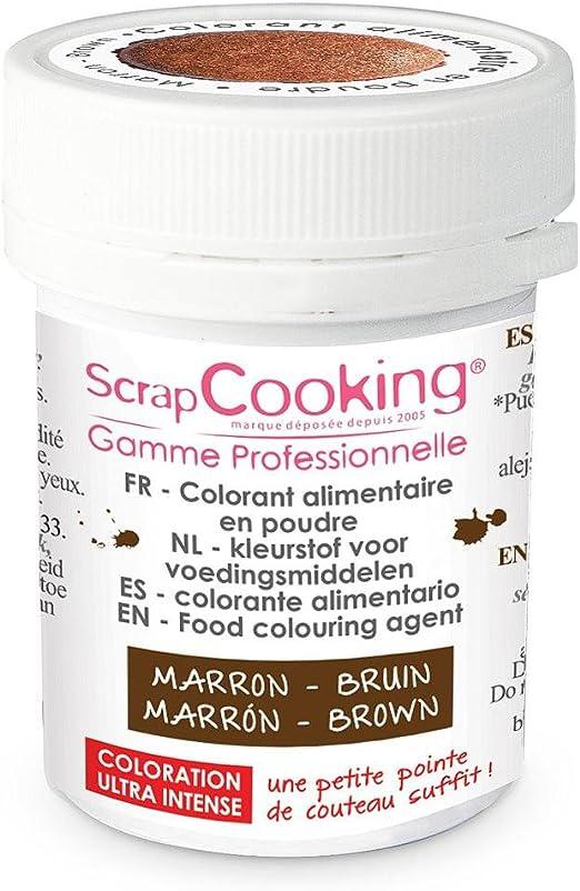 Colorante alimentario en polvo 5 g - marrón