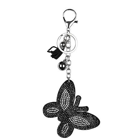 Llavero colgante,CHshe💜💜,Mariposa en forma de llavero ...