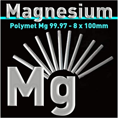 Magnesium Electrode Flat Pack of 4