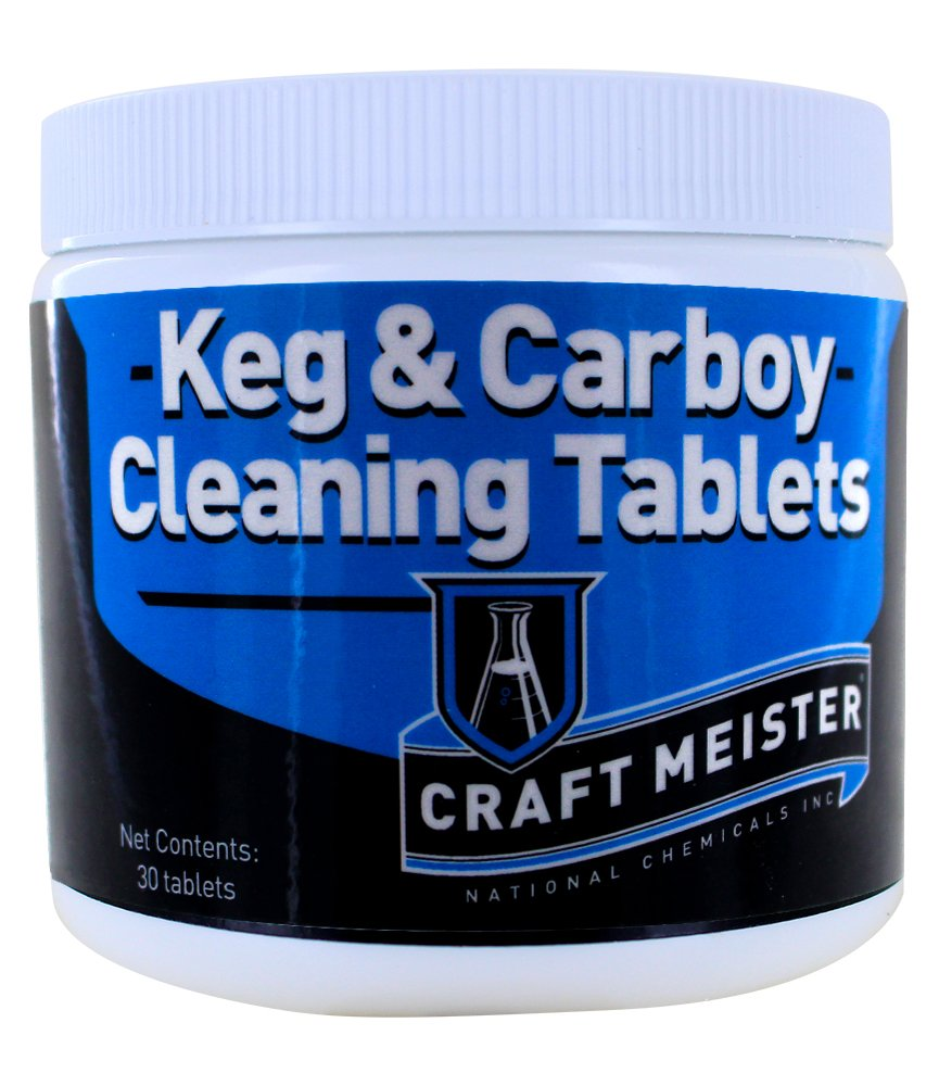 Craftmeister Keg and Carboy Cleaning Tablets
