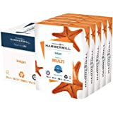 Hammermill Printer Paper, Multipurpose Inkjet Paper 24 lb, 8.5 x 11 - 5 Ream (2,500 Sheets) - 96 Bright, Made in the USA, 105