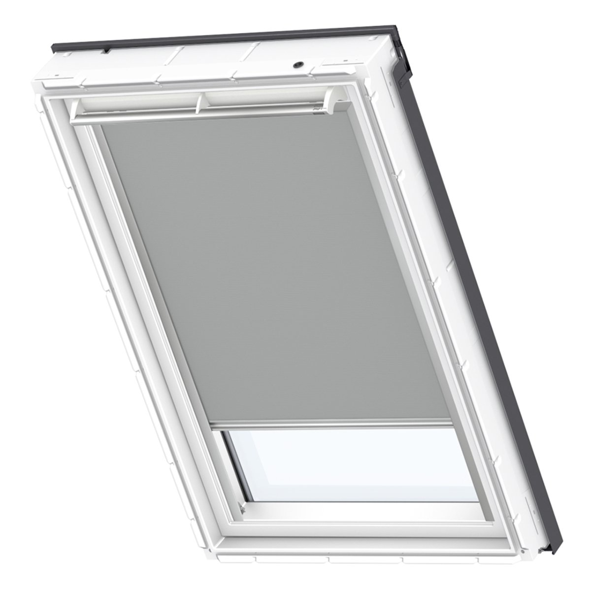 VELUX Original Verdunkelungrollo Dachfenster, PK08, Uni Grau
