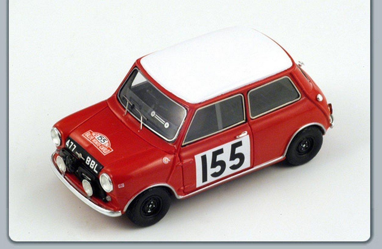 comprar nuevo barato SPARK MODEL S1190 MORRIS COOPER N.155 M.CARLO RALLY 1963 1963 1963 1:43 MODELLINO DIE CAST  ¡No dudes! ¡Compra ahora!