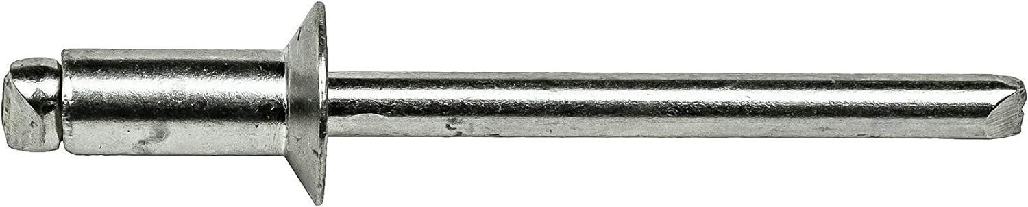 Stainless Steel Pop Rivets 1//8 x 3//16 Flat Countersunk Head Blind 4-3 Qty 1000