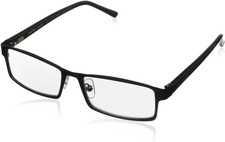 Foster Grant Sawyer Men's Rectangular Multifocus Glasses