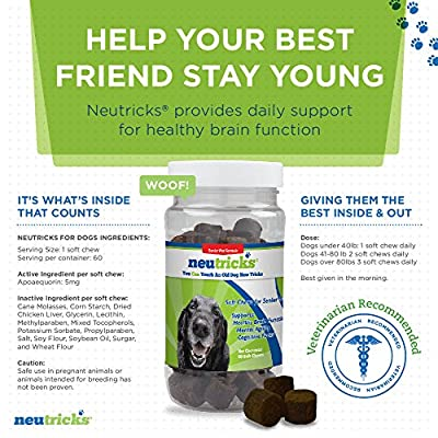 Neutricks Soft Chews for Senior Dogs (60 Count)
