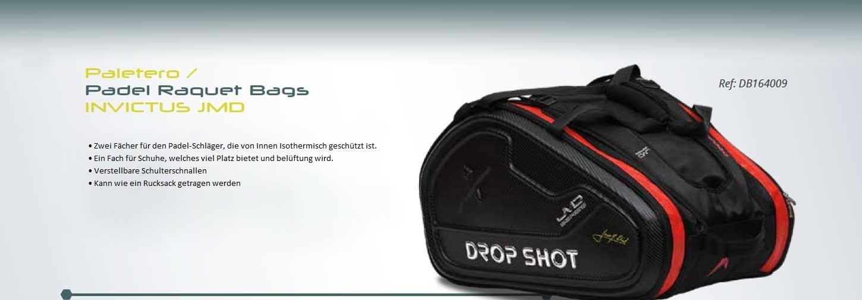 Drop Shot - Raqueta de Padel Funda | Invictus JMD: Amazon.es: Deportes y aire libre